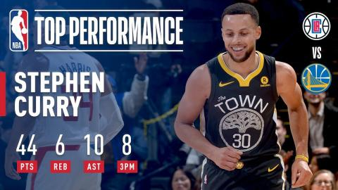 Stephen Curry DOMINATES in 1st Game After the All-Star Break   February 22, 2018