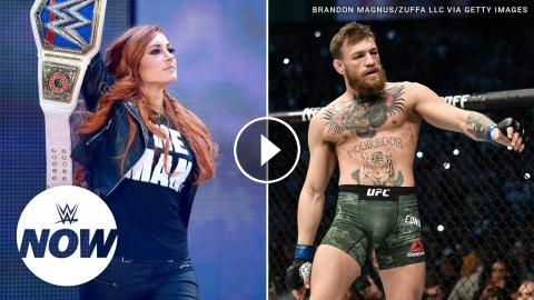 Becky Lynch teases training session with Conor McGregor's