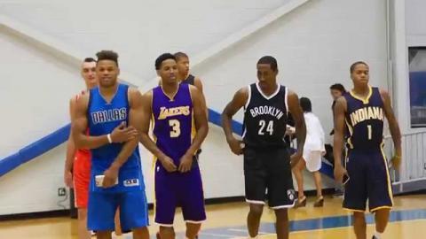 All-Access:  2015 NBA Rookie Photo Shoot
