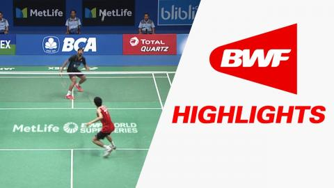 BCA Indonesia Open 2017 | Badminton F – Highlights