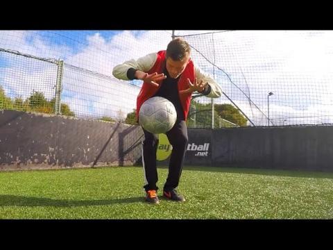 LEVITATING A FOOTBALL!!  - Unbelievable Football Magic Tricks!