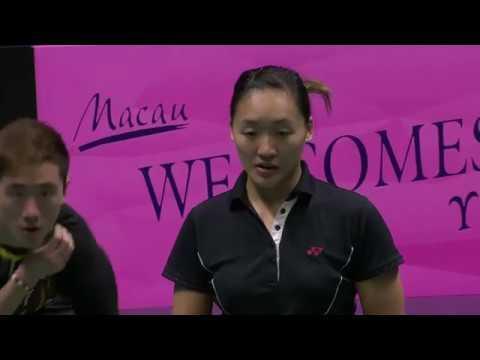Macau Open 2016 | Badminton SF M1-XD | Tan/Lai vs Tang/Tse