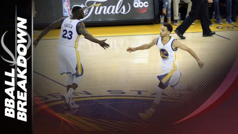 NBA Finals: How Steph Curry Attacks In The Pick And Roll