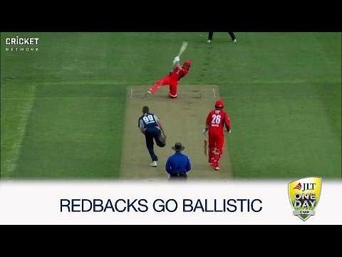 Redback batsmen bite hard late