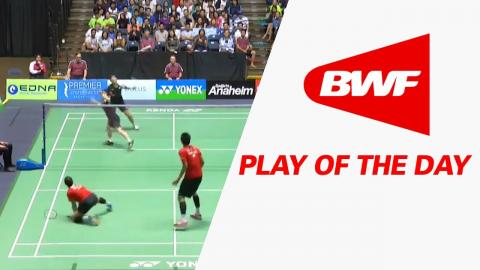 Play Of The Day | Badminton F - Yonex US Open 2017