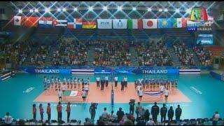 2014 FIVB Volleyball Women's World Championship : Thailand VS Mexico : Full Match