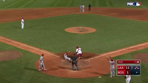 LAA@BOS: Calhoun gives the Angels two more runs