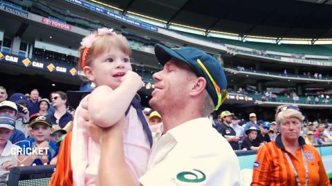 Raw vision: Aussies celebrate on the 'G