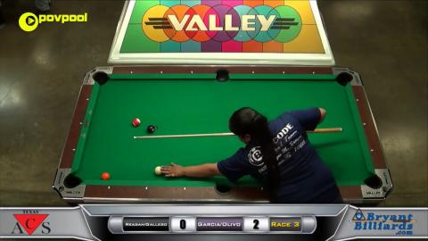 #1 Reagan/Gallego vs Garcia/Olivo / Texas ACS 2017 State 8 Ball