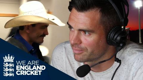 Rodeos, Radio And The Worst Football Player: Jimmy Anderson's Ashes Diary - Episode 3