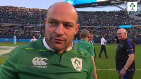 Irish Rugby TV: Rory Best On Ireland's Win Over New Zealand