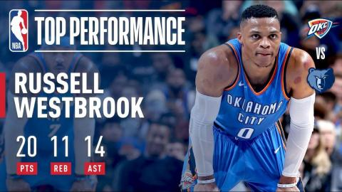Russell Westbrook Gets Triple-Double, Leads Thunder in OT Win | December 9, 2017