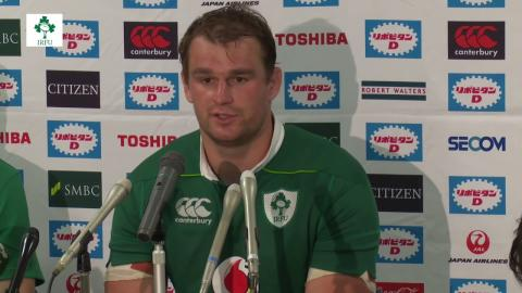 Irish Rugby TV: Japan v Ireland Post Match Press Conference