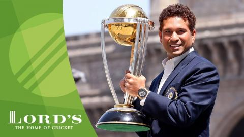 Sachin Tendulkar on his World Cup journey & the 2017 Women's World Cup final at Lord's