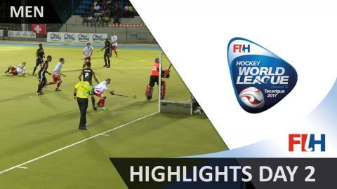 Highlights day 2 - 2017 Men Hockey World League Round 2, Tacarigua