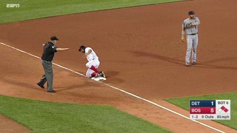 DET@BOS: Ortiz extends lead with RBI single in 6th