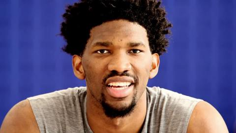 National Mentoring Month: Joel Embiid and Hakeem Olajuwon