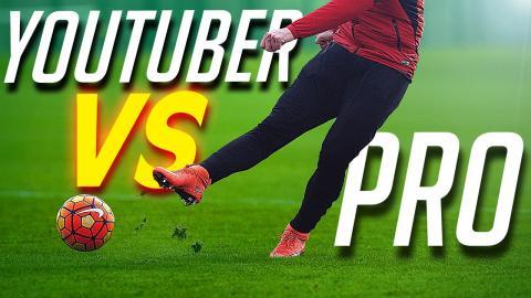 freekickerz vs Bayern Munich Pro's - Nike Most Wanted Challenge