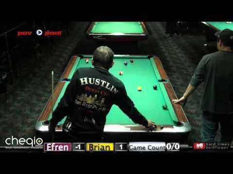 Pt 2  - Efren Reyes vs Brian Cady / The Efren Reyes Challenge!