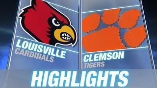 Louisville Vs Clemson - May 4 | 2015 ACC Baseball Highlights