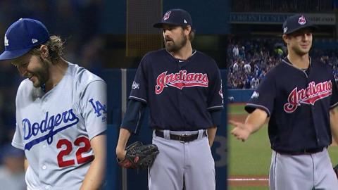Watch the best pitching performances from ALCS, NLCS