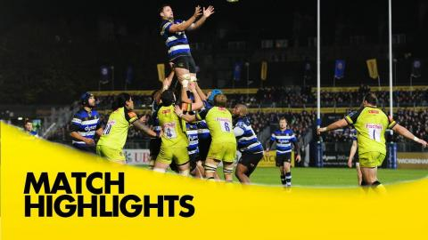 Bath Rugby v Leicester Tigers - Anglo-Welsh Cup 2016-17