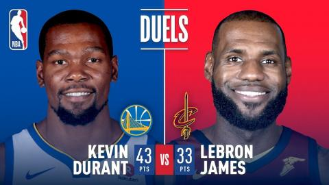 47c0d03c9f55 Kevin Durant   LeBron James Battle in Game 3