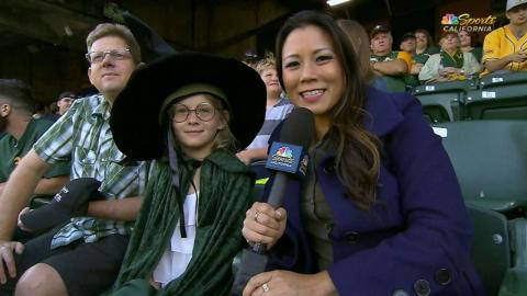 MIN@OAK: A young witch is excited for the fireworks