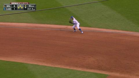 MIL@CHC: Montgomery escapes bases-loaded jam in 6th