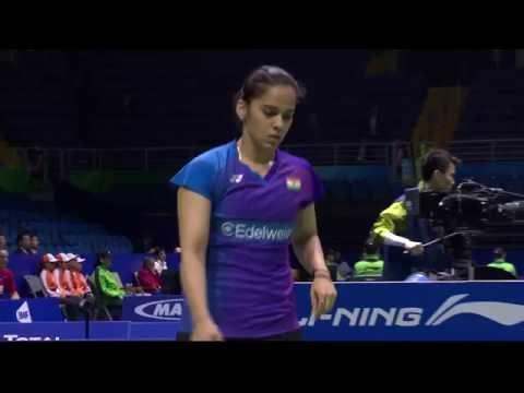 TOTAL BWF Thomas & Uber Cup Finals 2016 | Badminton Day 2/S1-Uber Cup Grp D- IND vs AUS (Court 2)