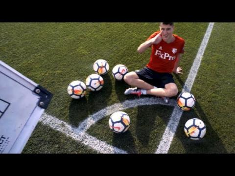 The Life of a Pro Footballer!! (24 Hour Challenge)