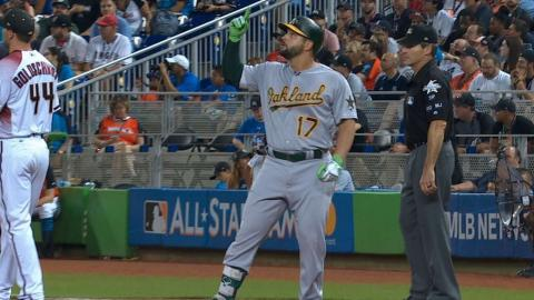 2017 ASG: Alonso collects two hits, steals second
