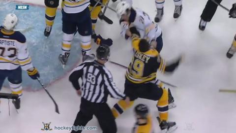 Derek Grant vs Matt Beleskey Nov 7, 2016