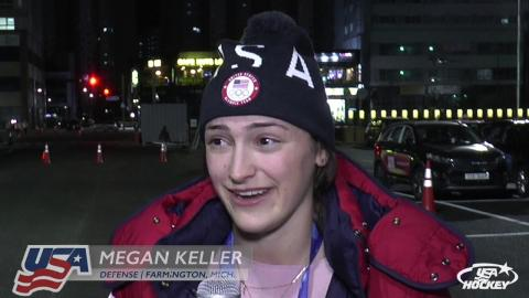 2018 Winter Olympics: U.S. Women's Team Blanks OAR, 5-0