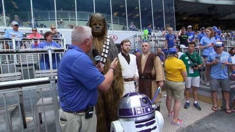 CWS@KC: Fans partake in Star Wars Day at Kauffman