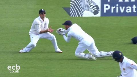 7 wickets fell as Sri Lanka frustrated England on day 3 in Durham