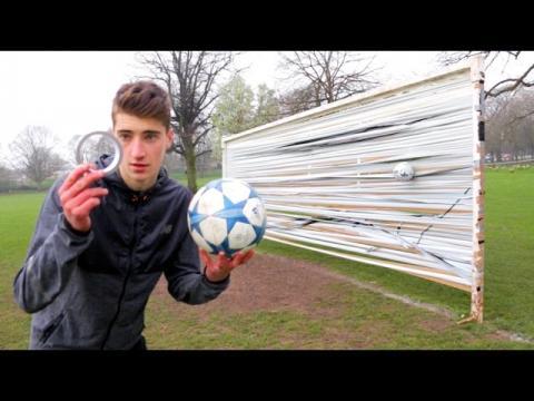 FOOTBALL vs. DUCT TAPE GOAL!!