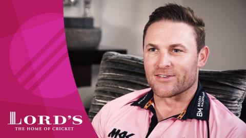 Brendon McCullum on Lord's, Middlesex & the Natwest t20 Blast