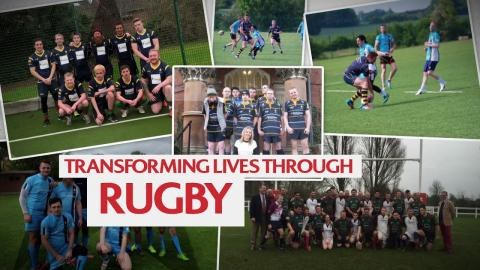 Homeless Rugby is rebuilding lives