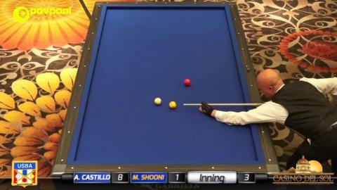 15 • Mazin SHOONI vs Allen CASTILLO • 2017 USBA / Gabriel's 3C Open