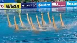 Synchronized Swimming-USA Team, 2007 Fina World Championship