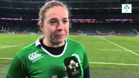 Irish Rugby TV: Niamh Briggs On The Ireland Women's Loss To England