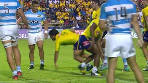 Brazil v Argentina   Americas Rugby Championship highlights