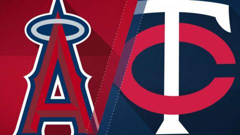7/5/17: Calhoun, Bridwell lead Angels past Twins
