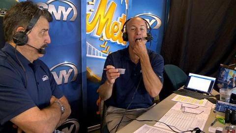 NYM@SEA: Mets announcers indulge in Safeco's snack