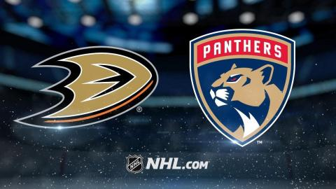 Vrbata tallies hat trick in Panthers' 8-3 victory