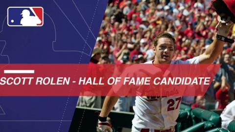 Scott Rolen is a finalist for the 2018 Hall of Fame