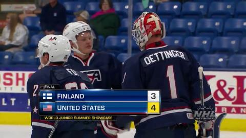 2017 WJSS Highlights: USA 4, Finland 3