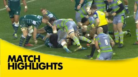 London Irish v Newcastle Falcons - Aviva Premiership Rugby 2017-18
