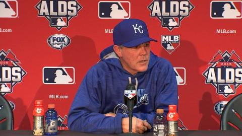 HOU@KC Gm2: Yost on series-tying 5-4 win over Astros